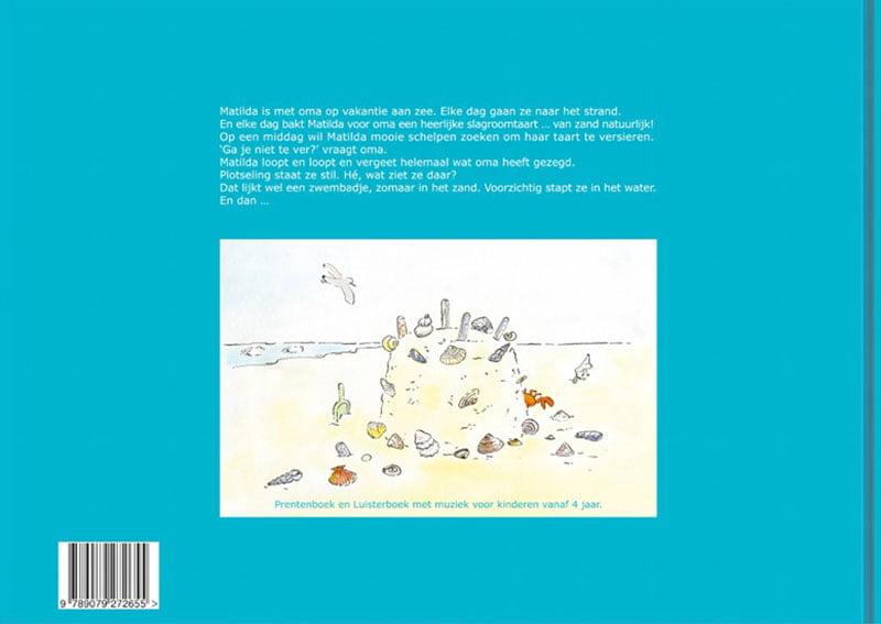 Achterkant Matilda en Kleine Vis