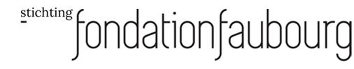 Logo Fondation Faubourg