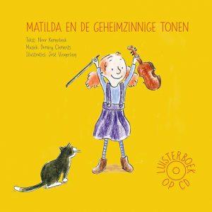 Voorkant CD Matilda en de Geheimzinnige Tonen